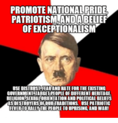 how to promote patriotism If patriotism were 7 ways to show your patriotism every day gain a deeper understanding of where we have been as a country so that you can help inform.