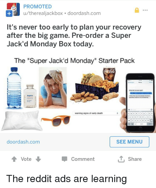 PROMOTED Utherealiackbox-Doordashcom It's Never Too Early to Plan