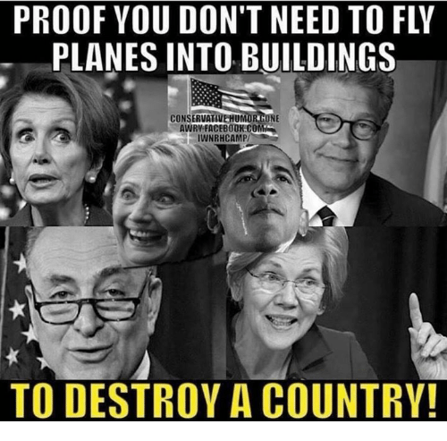 Image result for proof you don't need planes to destroy a country