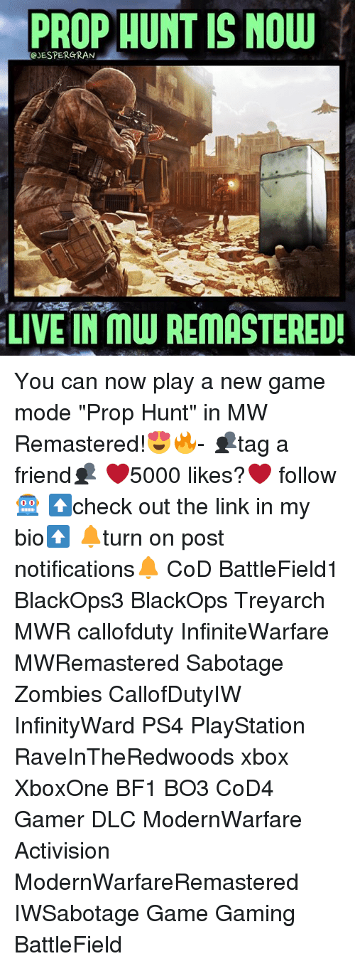 PROP HUNT IS NOW CJESPERGRAN LIVE IN Muu REMASTERED! You Can
