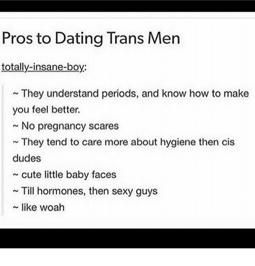 How to Date a Trans Guy