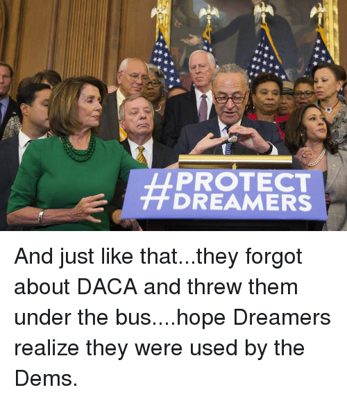 Hope, Bus, and Them: PROTECT  DREAMERS