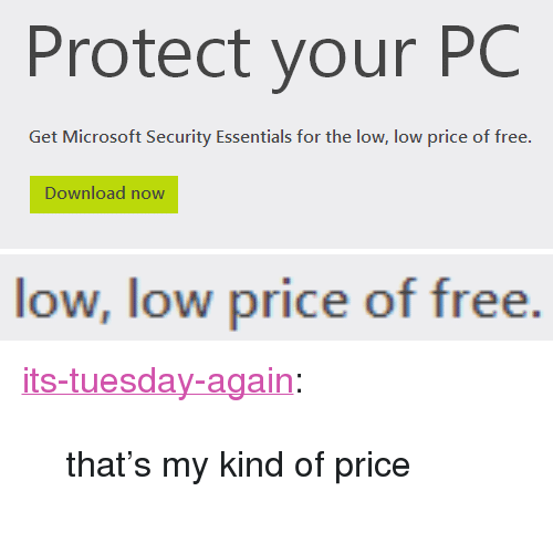 Protect Your PC Download Now Low Low Price of Free <p><a