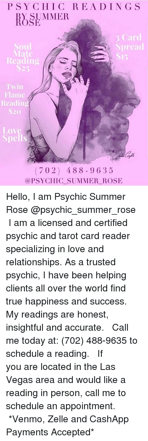 PSY CHIC READING S UMMER Ar Spread Soul Mate Reading Twin Flame