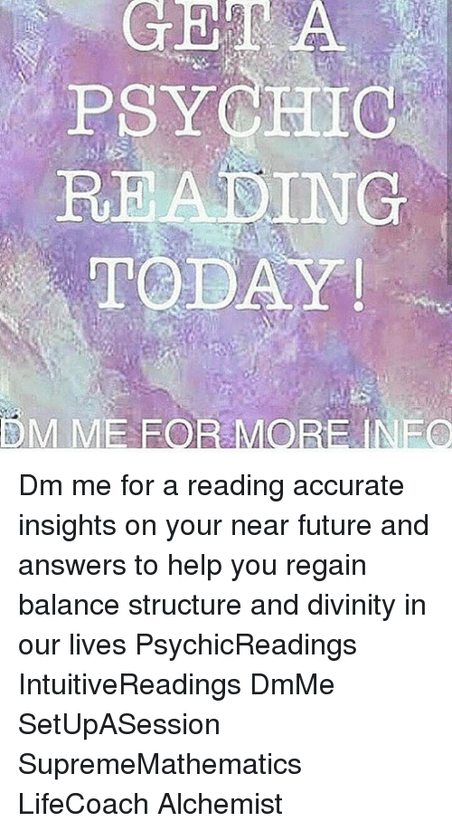 PSYCHIC READING TODAY HM ME FOR M NEO Dm Me for a Reading