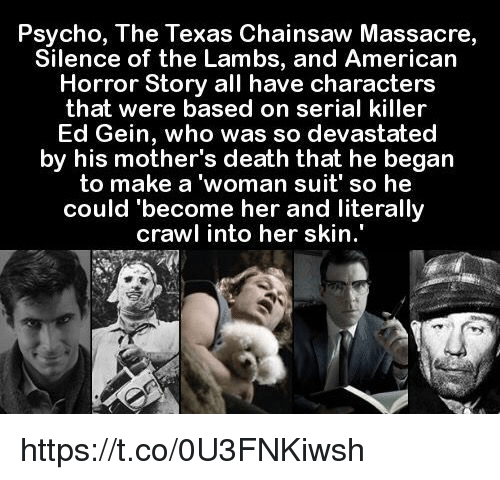 165 Best Images About The Texas Chain Saw Massacre On: 25+ Best Memes About Ed Gein