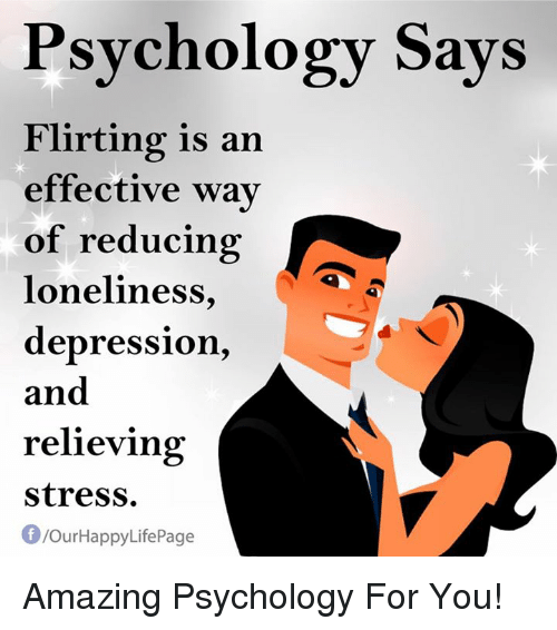 Psychology behind flirting