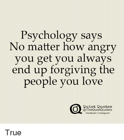Psychology Says No Matter How Angry You Get You Always End Up