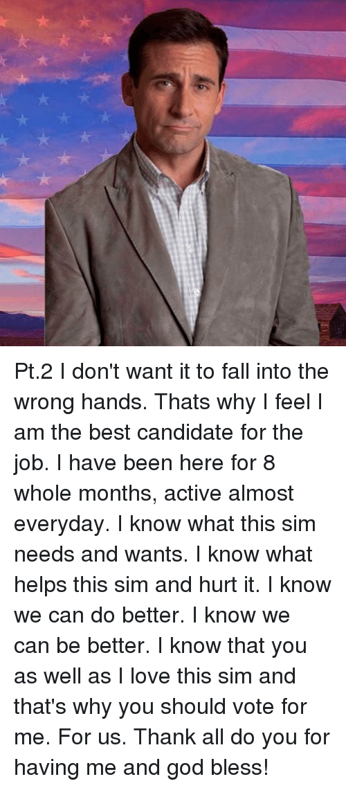 why i am the best candidate