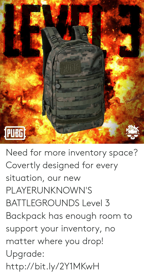 PUBG PUBG Need for More Inventory Space? Covertly Designed