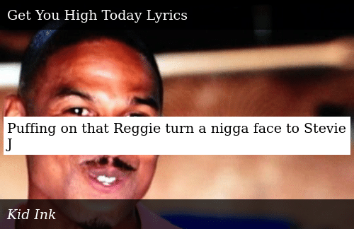 Puffing On That Reggie Turn A Nigga Face To Stevie J Donald Trump