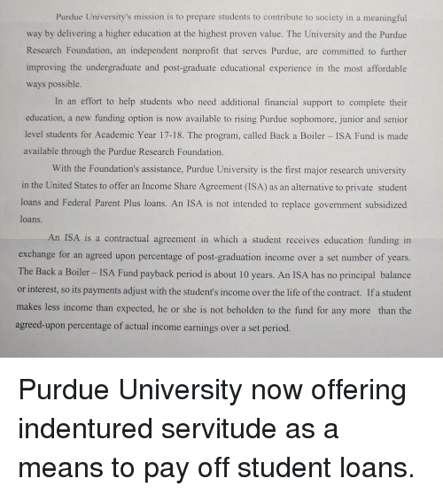 Purdue Universitys Mission Is To Prepare Students To Contribute To