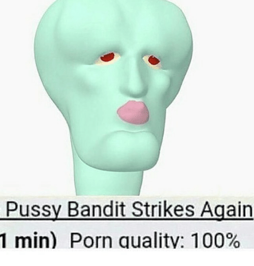 Memes Porn And  F0 9f A4 96 Pussy Bandit Strikes Again 1 Min Porn Quality
