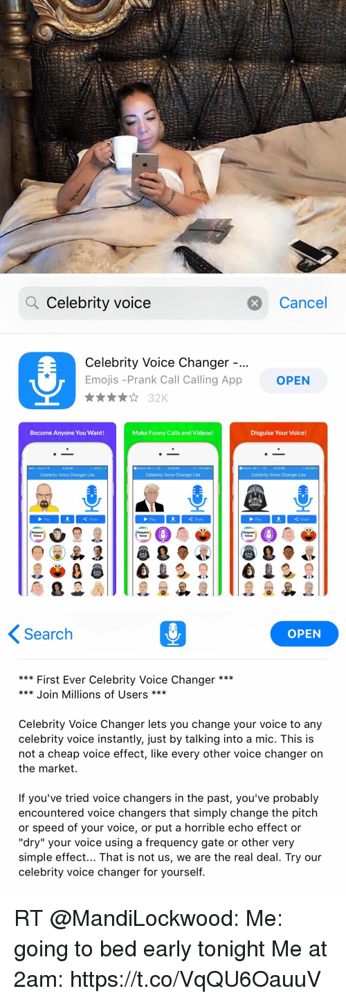 Q Celebrity Voice Cancel Celebrity Voice Changer Emojis -Prank Call