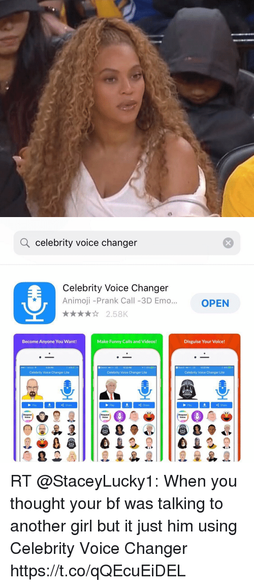 Q Celebrity Voice Changer Celebrity Voice Changer Animoji -Prank