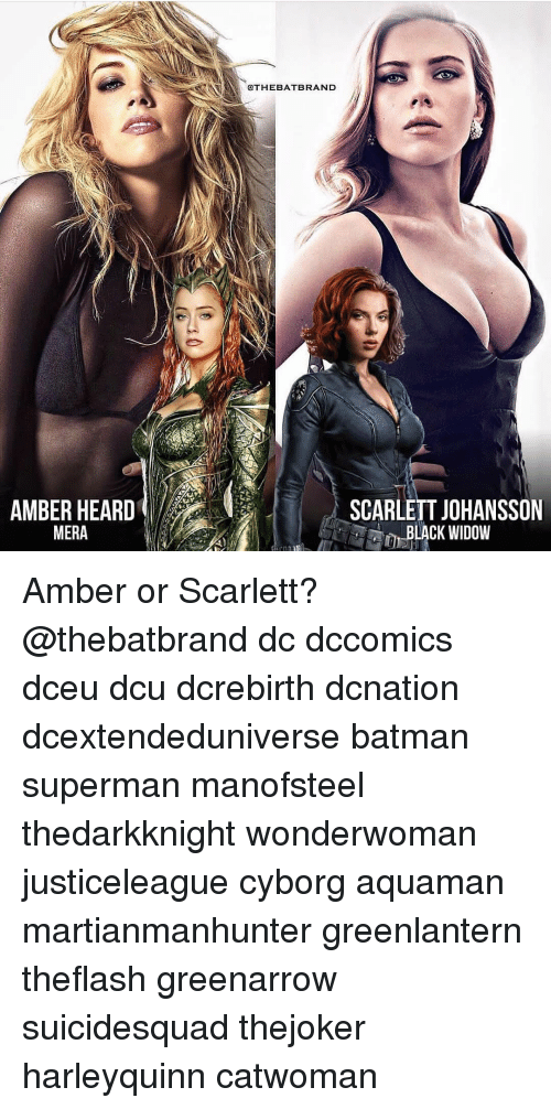 Amber Heard And Scarlett Johansson