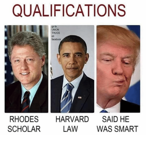 Facebook, Harvard, and Scholar: QUALIFICATIONS  go to.  UNION  THUGS  on  facebook  RHODES HARVARD SAID HE  SCHOLAR  LAW WAS SMART