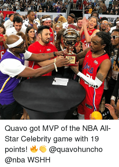 Quavo Earns MVP Honor at 2018 NBA All-Star Celebrity Game