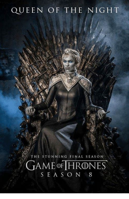QUEEN OF THE NIGHT THE STUNNING FINAL SEASON GAME OF ...