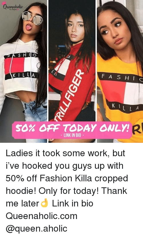d33d28f1d25c57 Queeraholio KIL LA F AS HI C K 1 50% OFF TODAY ONLY! LINK IN BIO ...