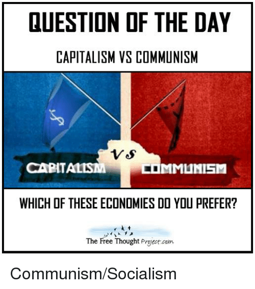Capitalism Vs Communism