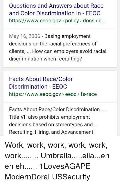 racial stereotype questions