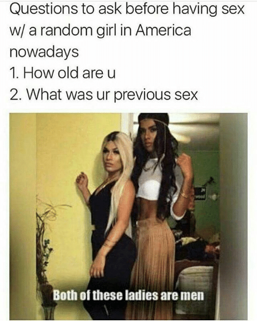 Random sex questions to ask
