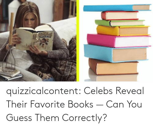 Books, Tumblr, and Blog: quizzicalcontent:    Celebs Reveal Their Favorite Books — Can You Guess Them Correctly?