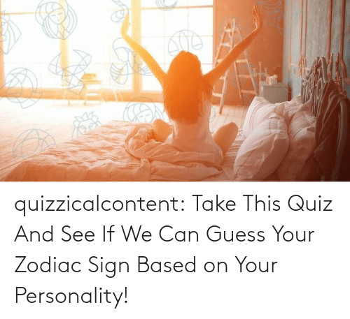 Tumblr, Blog, and Guess: quizzicalcontent:  Take This Quiz And See If We Can Guess Your Zodiac Sign Based on Your Personality!