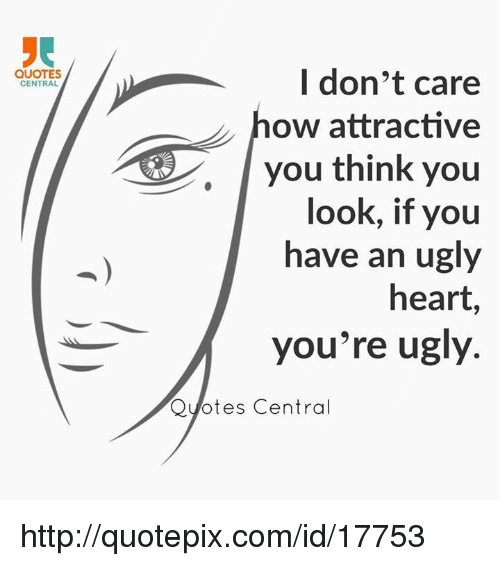 Beautiful I Don T Care What You Think About Me Quotes