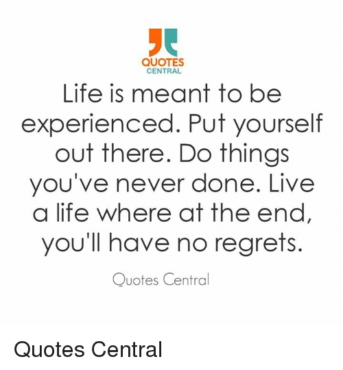100+ EPIC Best I Have No Regrets Quotes