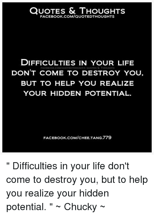 Quotes Thoughts Comquotedthoughts Difficulties In Your Life S
