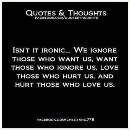 Quotes Thoughts Facebookcomauatedthaught5 Isnt It Ironic We