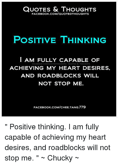 Quotes Thoughts Facebook Comauotedthoughts Positive Thinking I Am