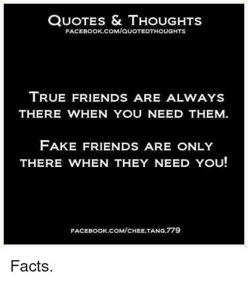 Quotes Thoughts Facebook Comquotedthoughts True Friends Are Always