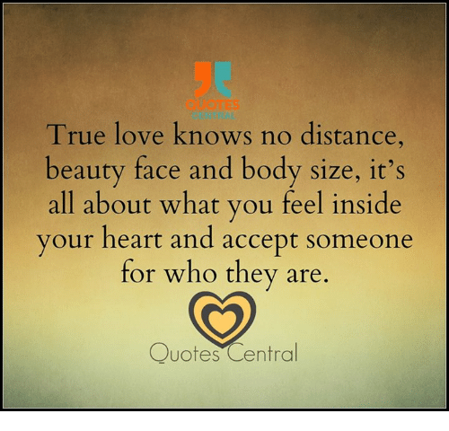 True love distance quotes