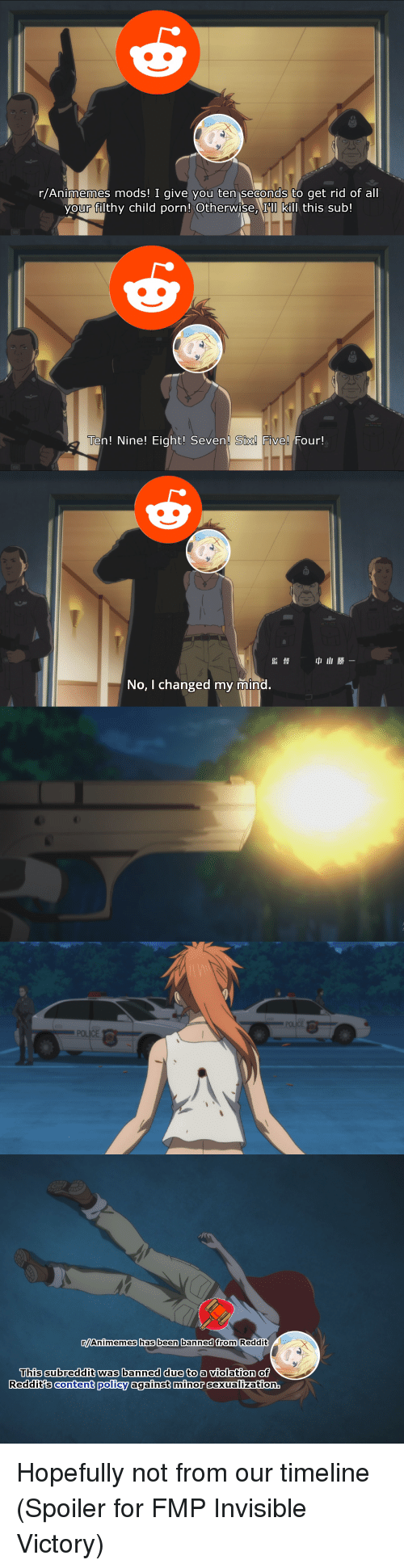 Best Anime Porn Subreddit ranimemes mods! i give you ten seconds to get rid of all