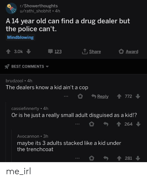 How To Find A Dealer >> Rshowerthoughts Urathi Shobhit 4h A 14 Year Old Can Find A Drug