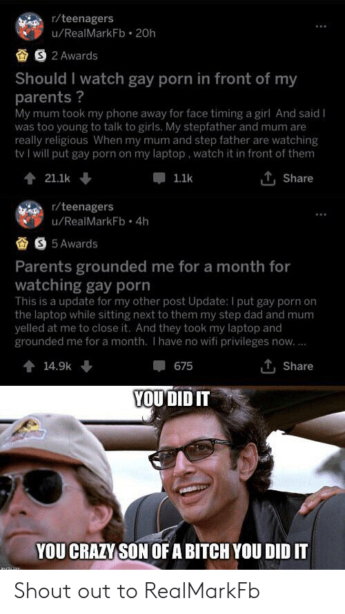 Step dad and son gay