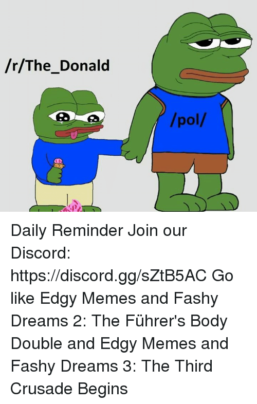 rThe Donald Pol Daily Reminder Join Our Discord