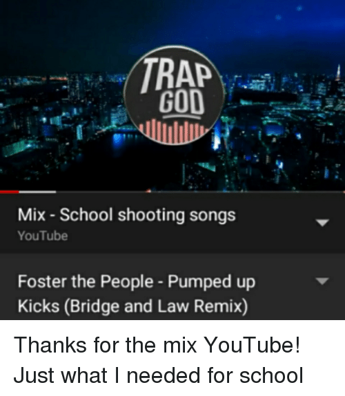 RA Mix School Shooting Songs YouTube Foster the People