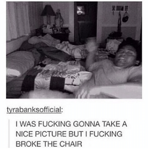 Chair fuck tumblr