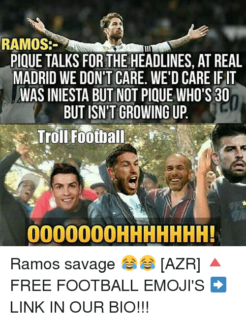 ramos pique talks for the headlines at real madrid we 18547595 ramos pique talks for the headlines at real madrid we don't care we