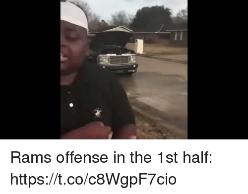 Football, Nfl, and Sports: Rams offense in the 1st half: https://t.co/c8WgpF7cio