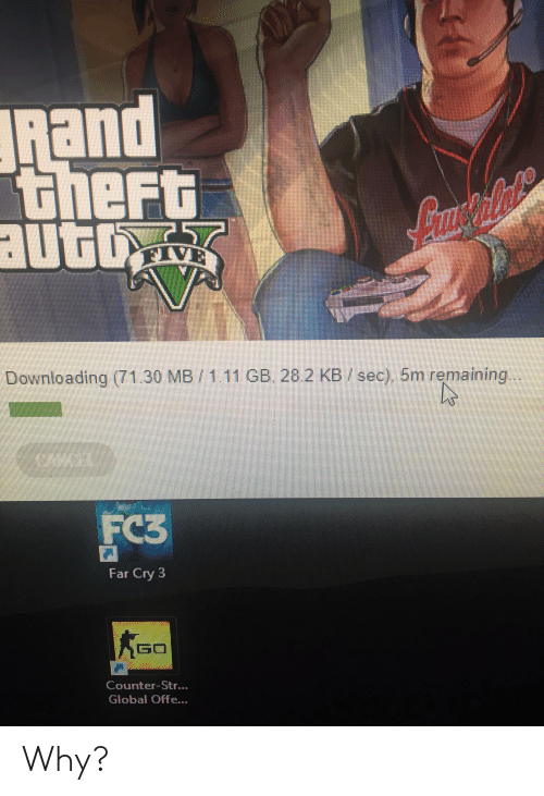 Rand Theft Auto Lmstiliale VE Downloading 71 30 MB111 GB 282 KB Sec