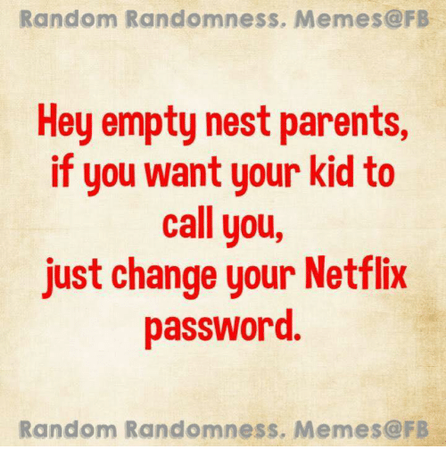 Image result for funny empty nester images