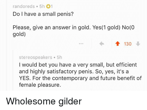 what to do with a small penis