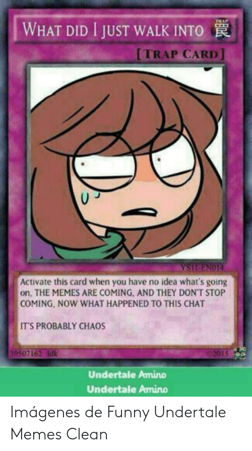 RAP WHAT DID I JUST WALK INTO TRAP CARD YSIT-ENO1 Activate