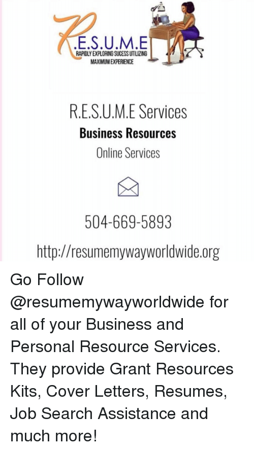 rapidly exploring sucess utilizing maximumexperience resume services
