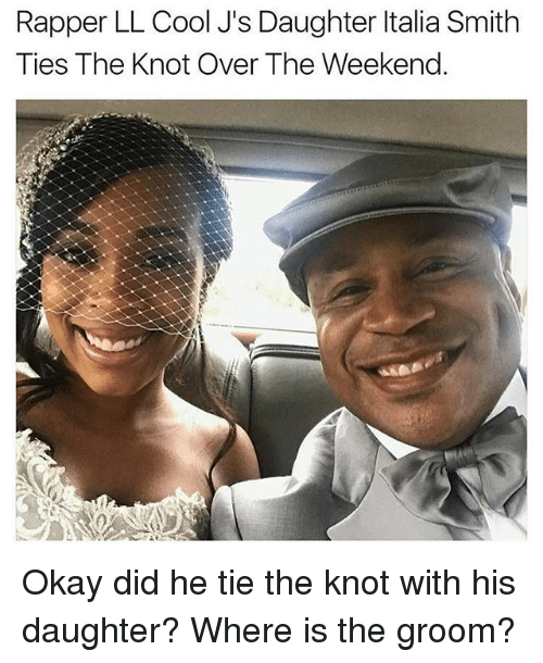 rapper ll cool js daughter italia smith ties the knot 23368525 rapper ll cool j's daughter italia smith ties the knot over the